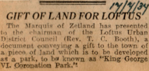 Gift Of Land