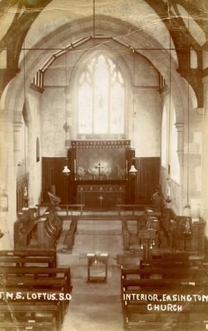 Interior, Easington Church