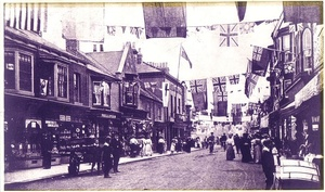 Redcar High Street Decorated