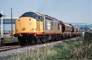 Class 37 from Boulby Potash