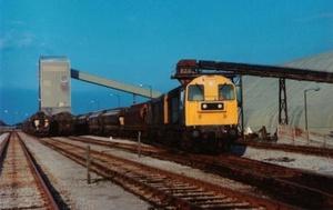 Class 20s at Boulby (1987)