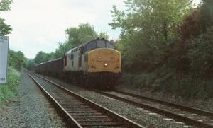 Class 37 at Salburn (1987)