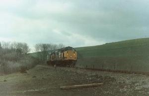 Class 37s Boulby (1986)