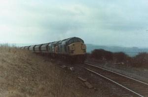 Class 37s at Huntcliffe (1986)