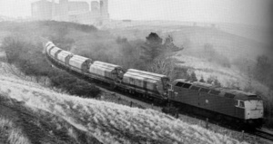 Class 47 Leaving Boulby (Early 80s)