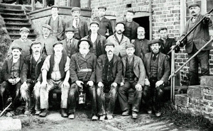Miners at Morrisons, Brotton