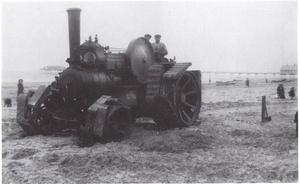 Botrail Tractor Redcar Beach C1920
