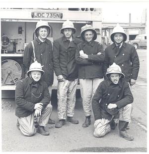 Loftus Fire Crew - 1978 - @ ICI Wilton on exercise