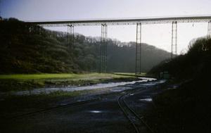 Halfpenny Bridge, Feb 1972