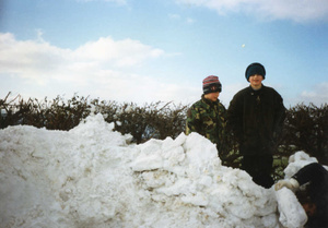 Snow – Micklow Lane