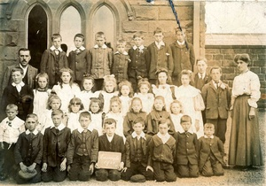 Easington School, 1908