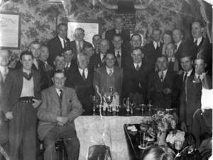 Loftus Homing Society Presentation Evening (1950's)