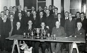 Pigeon Club Presentation, 1951