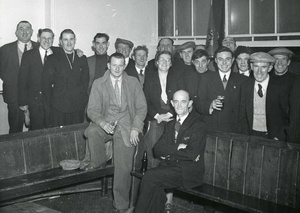 Staithes Pigeon Club Members, 1951