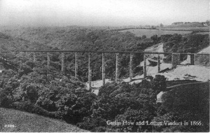 Carlin How and Loftus Viaduct in 1866