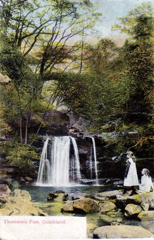 Thomassin Foss, Goathland (c. 1900)