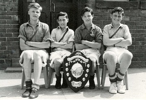St Joseph's Relay Team, 1953