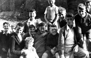Staithes Boys, July 1936
