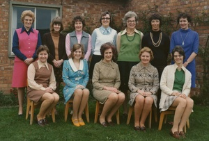 Loftus Harry Dack Infant School Staff - 1975