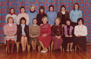 Lady Staff, Harry Dack Infant School, Loftus - 1980